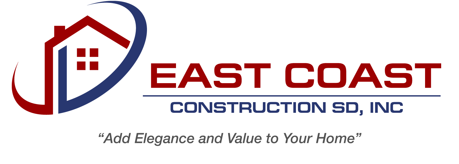 East Coast Construction SD, Inc. Logo
